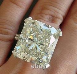 20 ct Cocktail Party Ring inspired 925 Sterling Silver Cushion Solitaire Gift Cz