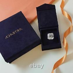 3mm Heart Eternity Solid Band Ring 925 Sterling Silver Valentine's Day Gift her