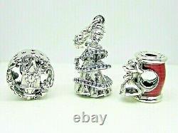 Authentic Pandora #B801427 Disney Cinderella Charm Gift Set of Three Charms