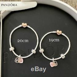Authentic Pandora LABYRINTH GIFT SET Rose Gold & Silver Size 19cm