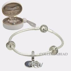 Authentic Pandora Sterling Silver Dazzling Wishes Bracelet Gift Set B801002-19