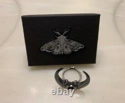 Bloodmilk Owl Talon Ring NEW With Gift Box And Postcard Size 9.25