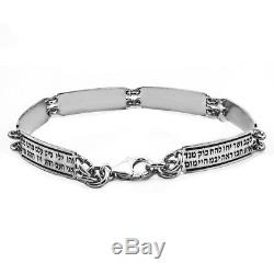 Bracelet 72 Names of God Kabbalah Bangle Jewelry Gift Silver 925
