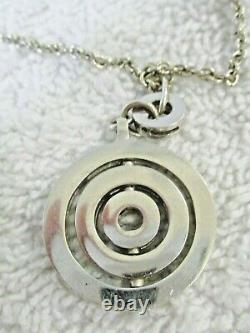 Bvlgari Stainless Steel Astrale Cerchi Necklace with Gift Box
