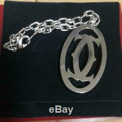 Cartier Keychain Pendant Top Charm gift key chain pendant top Comes with case