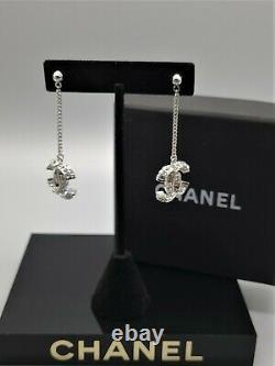 Chanel Jewelry Dangling Earrings Chanel Logo X'mas Gift Idea
