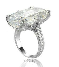 Cocktail party ring solid 925 Sterling Silver high end handmade jewelry new gift