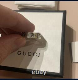 GUCCI Ghost Skull Ring Silver 925 With box and papers (Unisex) perfect gift