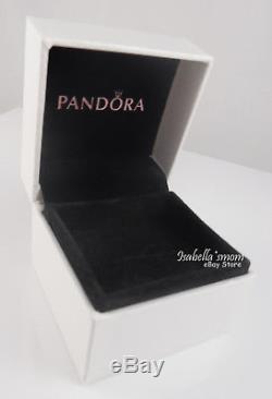 HAPPY HALLOWEEN Black Cat PANDORA Silver/ENAMEL Dangle Charm/Bead NEW w GIFT BOX