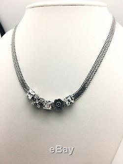 High Quality Mariana Necklace Swarovski Crystals Silver Plated Gift for Mother