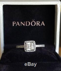 Hot Pandora Silver 925 Timeless Elegance Ring Size 6/52 with a gift box 190947CZ