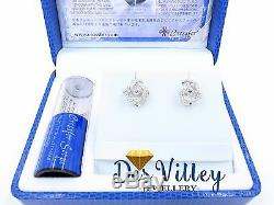 JAPAN IMPORT Crossfor NYP-116 Dancing Stone Cubic zirconia Silver 925 gift CZ