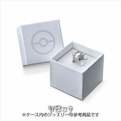K. UNO Pokemon Gengar Silver Ring Japan Anime Jewerly Gift