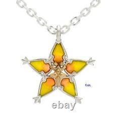 Kingdom Hearts U-TREASURE Necklace Silver Amulet Pendant Terra Japan F/S Gift