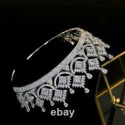 Luxury Princess Crown Headpiece Jewelry Bridal Wedding Accessories Jewelry Gift