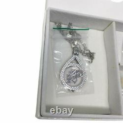 MI MONEDA Pendant & Necklace Gift Set Box with 5 Coins Silver Tone £390