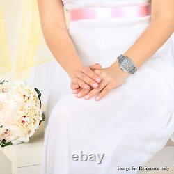 Michele Deco Day Swiss Quartz Movement Diamond Watch Ct 0.7 Mothers Day Gift