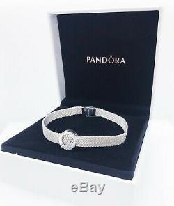 NEW Authentic PANDORA Reflexions Sparkling Icicles Charm + Bracelet Gift Set