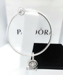 NEW PANDORA 925 Circle love Family Tree Gift Set Charm Bracelet Bangle B801156