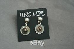 NEW Uno De 50 Colorful VOLANDO NADO Fish Bracelet 7 AND Shell earrings Gift Set