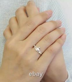 NIB Vivienne Westwood Vendome Orb Silver Ring 0.925 Sterling size L Gift Box