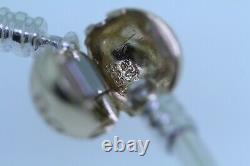 New Authentic Pandora 925 Sterling Silver Bangle Bracelet 14K G585 ALE GOLD GIFT