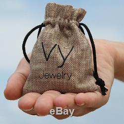New Women 925 Silver Cuff Bracelet Blue Opal Bangle gift Handmade Jewelry