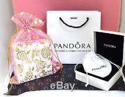 Pandora Bracelet Silver Wife Gold Angel European Charms Pandora Gift Set New