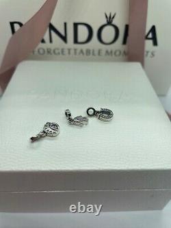 Pandora Me Link Bracelet 7.9 & 3 Charms FREE GIFT BOX