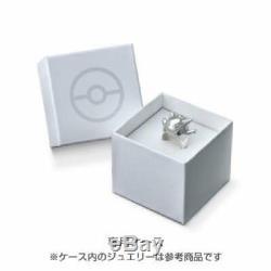 Pokemon Eifie Blacky Espeon Umbreon Ring Silver Present Gift Japan