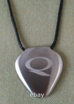 Q LINK CLARUS Pendant Stainless Steel SRT 3 color is silver unused gift in box