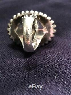 STEPHEN DWECK Signed Set NECKLACE RING & ENHANCER. 925 SILVER PEARL MOP Gift