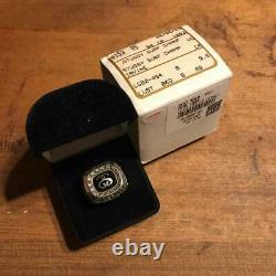 STUSSY COLLEGE RING 25th MEN SILVER LIMITED MODEL JOSTENS JEWELRY GIFT RARE