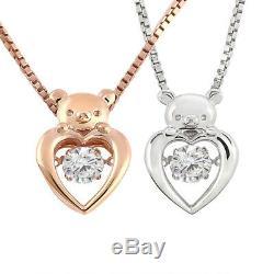 San-x rilakkuma necklace jewelry pendant Pink gold Silver accessory Present gift