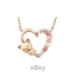 San-x rilakkuma necklace jewelry pendant Pink gold Silver accessory Present gift