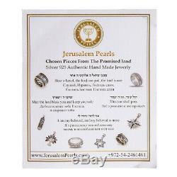 Silver 925 & Pure 14K Gold I AM MY BELOVED Ani Ledodi Massive Spinning Gift Ring