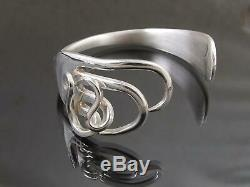 Silver Plated Fork Bracelet Bangle Unusual Gift Vintage Unique Cutlery Jewellery