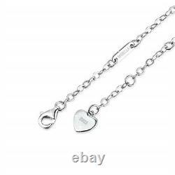 Sterling Silver Adjustable Infinity Love Heart Anklets Bracelet Christmas Gifts