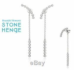 StoneHenge Stone Henge K1157 EARRING Jewelry Gift KOREA Drama Park Min Young
