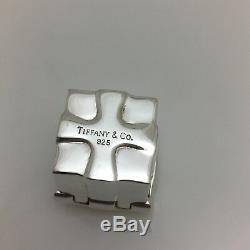 Tiffany & Co Sterling Silver Miniature Trinket Gift Box Jewelry Container