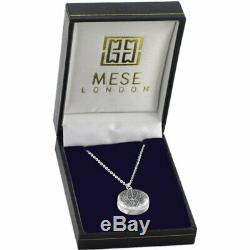 Tree Of Life Necklace 925 Sterling Silver Pendant Elegant Gift Box