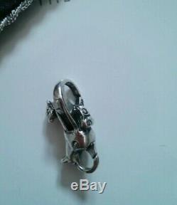 Trollbeads Silver 925 LAA Troll Lock 30th Anniversary Free Bracelet & Gift 11/30