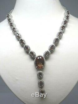 Turkish Handmade Jewelry 925 Sterling Silver Alexandrite Stone Women Necklace