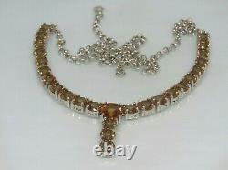 Turkish Handmade Jewelry 925 Sterling Silver Alexandrite Stone Women Necklace