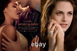 Twilight Breaking Dawn Edward Cullen Bella Wedding 925 Sterling Silver Ring+Gift