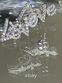 Vivienne Westwood Love Orb Earrings Dazzling Crystals Womens Jewellery Gift